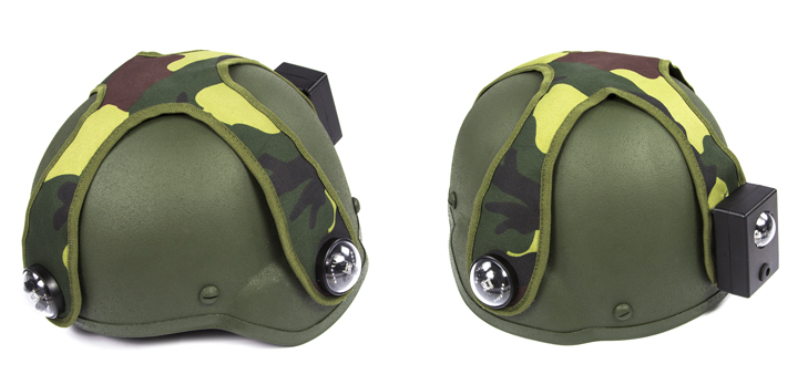 Cover for laser tag tactical helmets