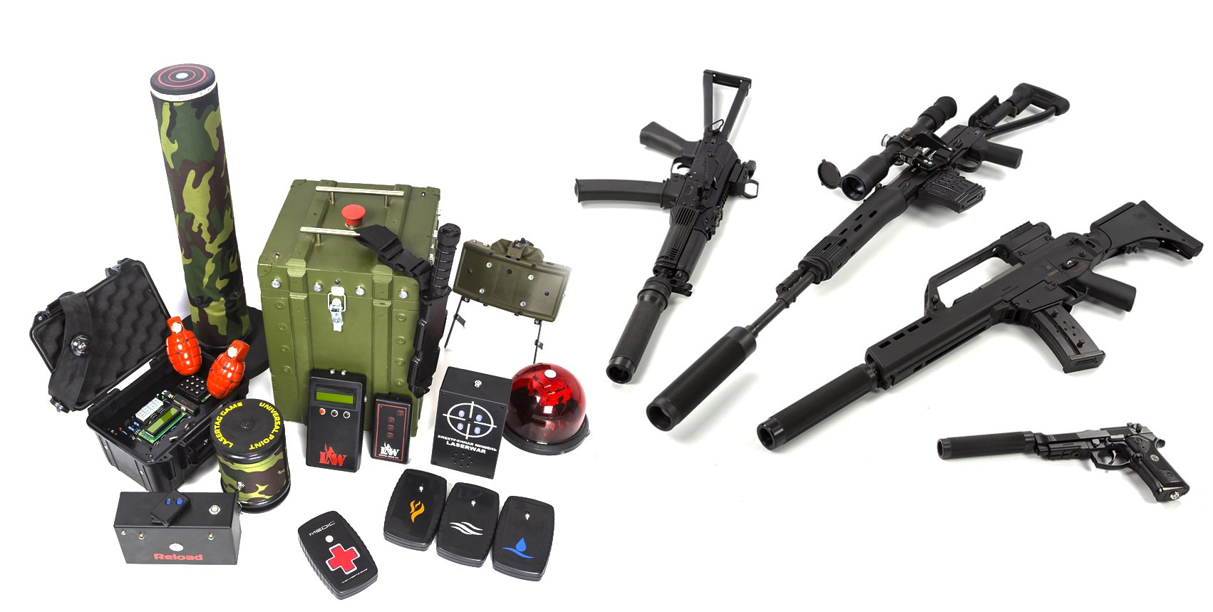 Tactical Laser Tag Gear