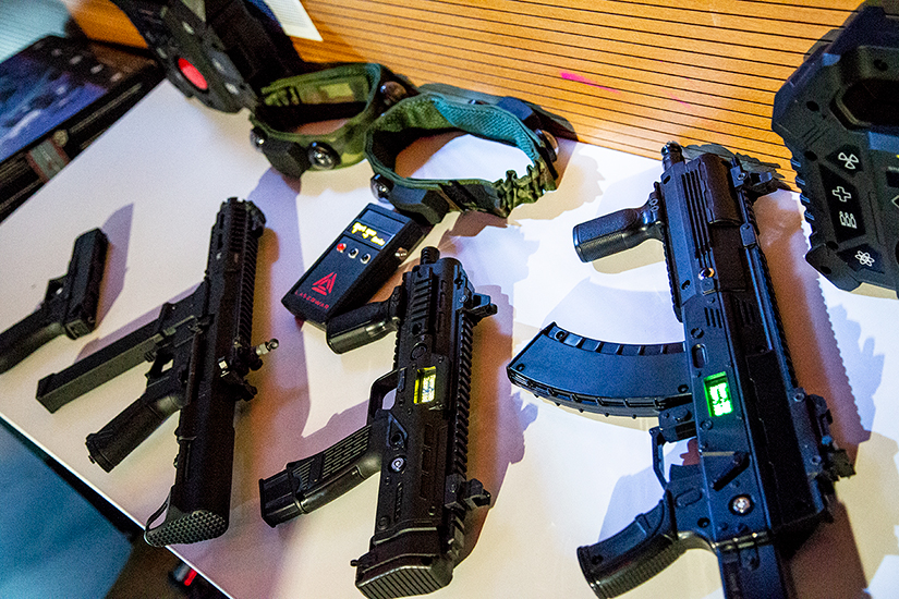 X gen laser tag equipment all