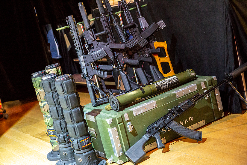 X gen laser tag equipment guns