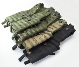 RGB laser tag tactical vests