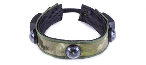 Laser tag headband for two guns